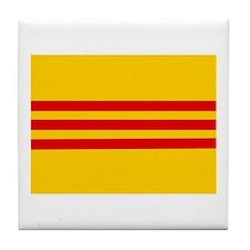 South Vietnam Flag Tile Coaster