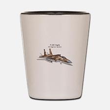 F-15C Eagle 65th AGRS Shot Glass