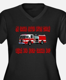 Saved Lives Today-Uncle Women's Plus Size V-Neck D