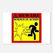 MYTHBUSTERS SCIENCE IN ACTION Postcards (Package o