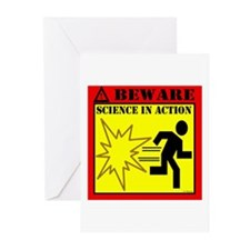 MYTHBUSTERS SCIENCE IN ACTION Greeting Cards (Pack