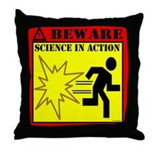 MYTHBUSTERS SCIENCE IN ACTION Throw Pillow