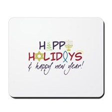 Happy New Year Mousepad