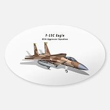 F-15C Eagle 65th AGRS Sticker (Oval)
