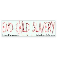 Love Chocolate Bumper Bumper Sticker