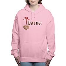 LoveJamie.png Women's Hooded Sweatshirt