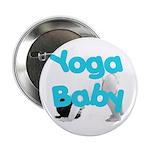 Yoga Baby #1 Button