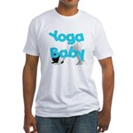Yoga Baby #1 Fitted T-Shirt