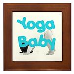 Yoga Baby #1 Framed Tile