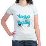 Yoga Baby #1 Jr. Ringer T-Shirt