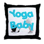 Yoga Baby #1 Throw Pillow