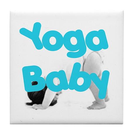 Yoga Baby #1 Tile Coaster