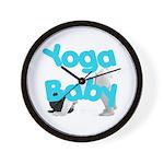 Yoga Baby #1 Wall Clock
