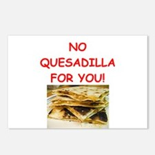 QUESadilla Postcards (Package of 8)
