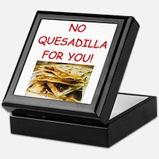 QUESadilla Keepsake Box