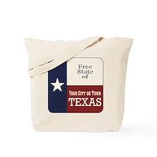 Free State of Texas Tote Bag