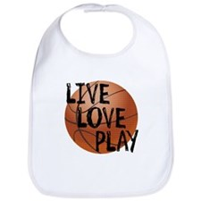 Live, Love, Play - Basketball Bib