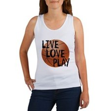 Live, Love, Play - Basketball Tank Top