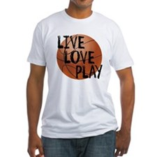 Live, Love, Play - Basketball T-Shirt