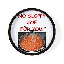 sloppy,joe Wall Clock