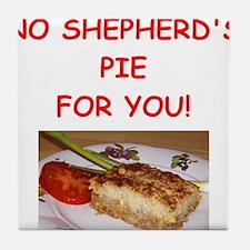 shepherds pie Tile Coaster