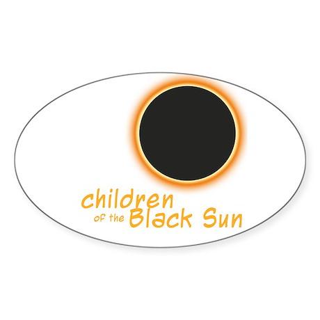 STICKERS Oval Sticker
