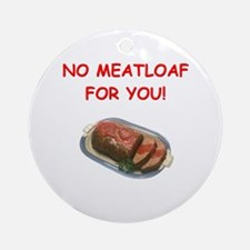 meatloaf Ornament (Round)