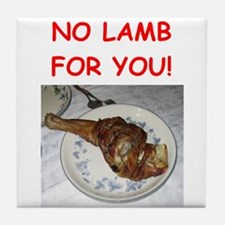 lamb Tile Coaster