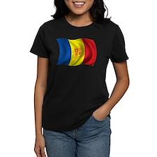 Wavy Andorra Flag Tee