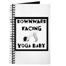 Downward Facing Yoga Baby Journal