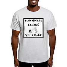 Downward Facing Yoga Baby T-Shirt