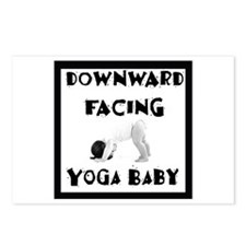 Downward Facing Yoga Baby Postcards (Package of 8)