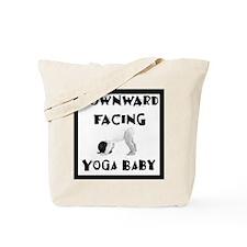 Downward Facing Yoga Baby Tote Bag