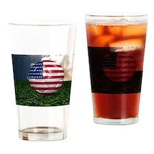 USA-Fussball_0001 Drinking Glass