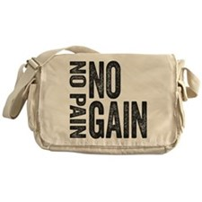 No Pain No gain Messenger Bag