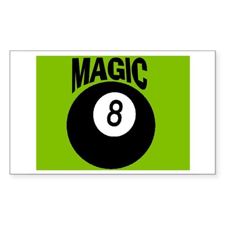 MAGIC 8-BALL Rectangle Sticker