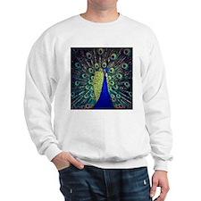 Cobalt Blue Peacock Sweatshirt