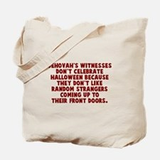 Jehovahs witnesses Tote Bag