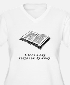 Book a day Plus Size T-Shirt