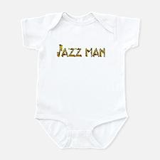 Jazz man sax saxophone Infant Bodysuit