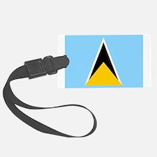 St. Lucia Flag Luggage Tag