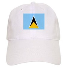 St. Lucia Flag Baseball Baseball Cap
