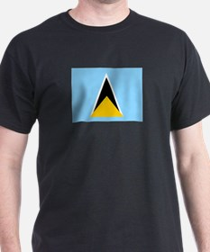 St. Lucia Flag T-Shirt