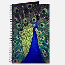 Cobalt Blue Peacock Journal