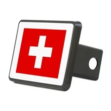 Switzerland Flag Hitch Cover