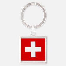 Switzerland Flag Keychains