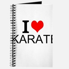 I Love Karate Journal
