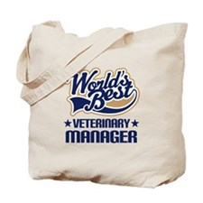 Veterinary manager Tote Bag