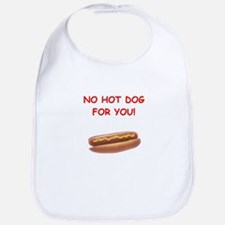 hot dogs Bib