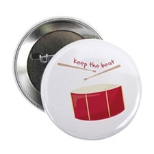 "Keep The Beat 2.25"" Button"